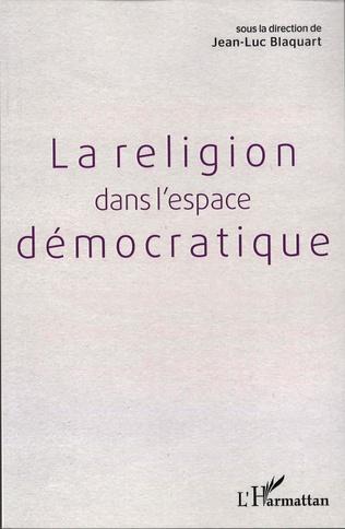 Couverture Religion dans l'espace démocratique