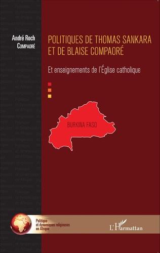 Couverture Politiques de Thomas Sankara et de Blaise Compaoré