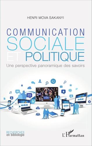 Couverture Communication sociale et politique