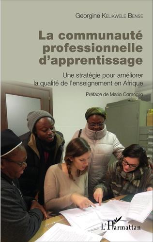 Couverture La communauté professionnelle d'apprentissage