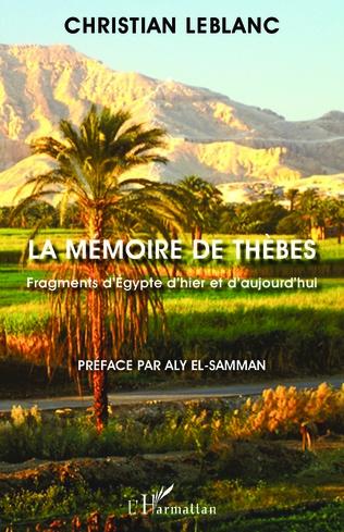 Couverture La mémoire de Thèbes