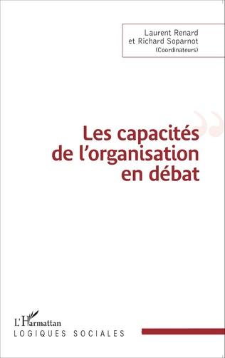 Couverture Les capacités de l'organisation en débat