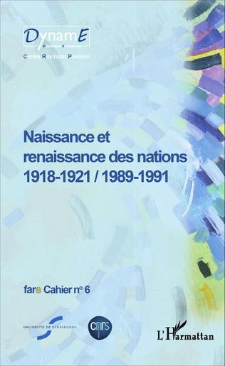 Couverture Naissance et renaissance des nations