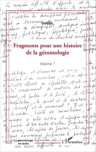 Couverture Fragments pour une histoire de la gérontologie
