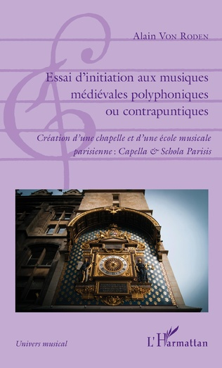 Couverture Essai d'initiation aux musiques médiévales polyphoniques ou contrapuntiques