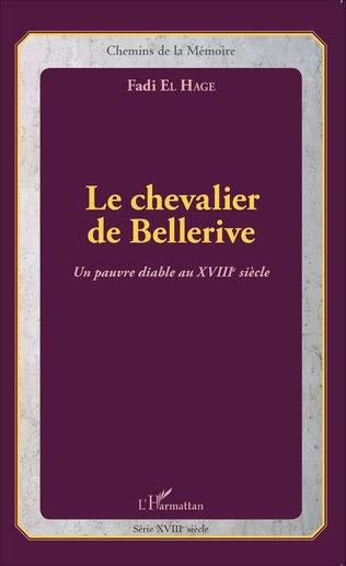 Couverture Le chevalier de Bellerive