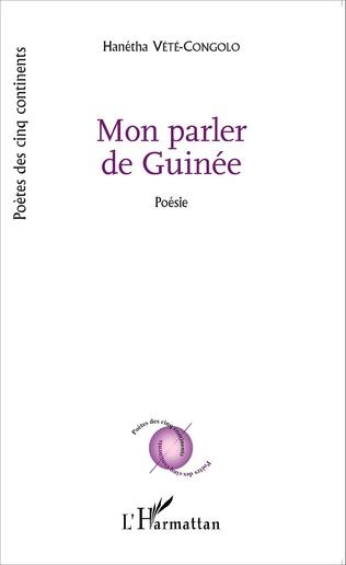Couverture Mon parler de Guinée