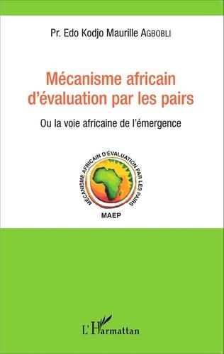 Couverture Mécanisme africain d'évaluation par les pairs