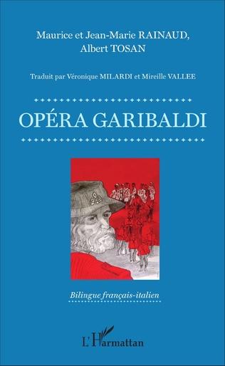 Couverture Opéra Garibaldi - Livret