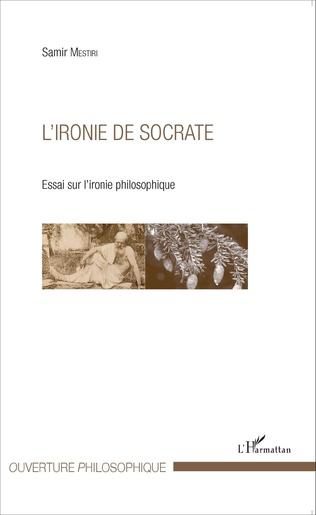 Couverture L'ironie de Socrate