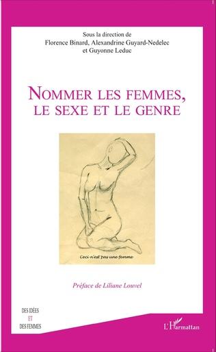 Couverture Nommer les femmes, le sexe et le genre