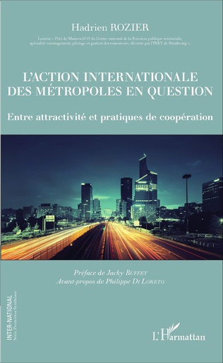 Couverture L'action internationale des métropoles en question
