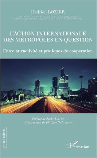 Couverture L'action internationale des métropoles en question