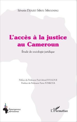 Couverture L'accès à la justice au Cameroun