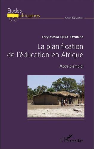 Couverture La planification de l'éducation en Afrique.