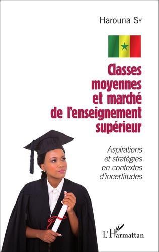 Couverture Classes moyennes et marché de l'enseignement supérieur