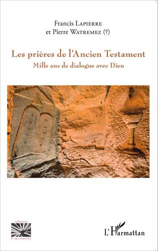 Couverture Prières de l'Ancien Testament