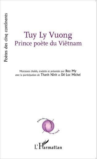 Couverture Tuy Ly Vuong Prince poète du Viêtnam