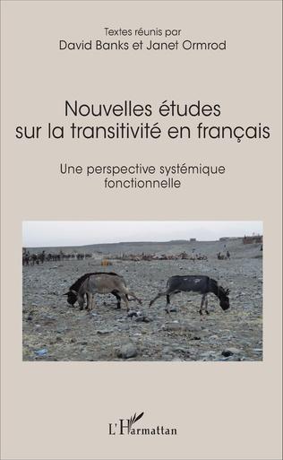 Couverture Nouvelles études sur la transitivité en français