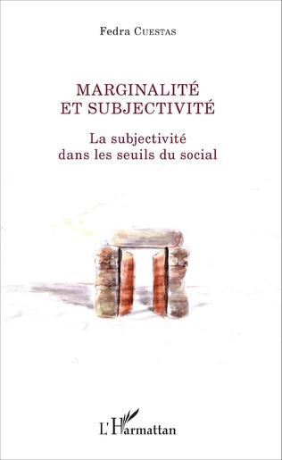 Couverture Marginalité et subjectivité