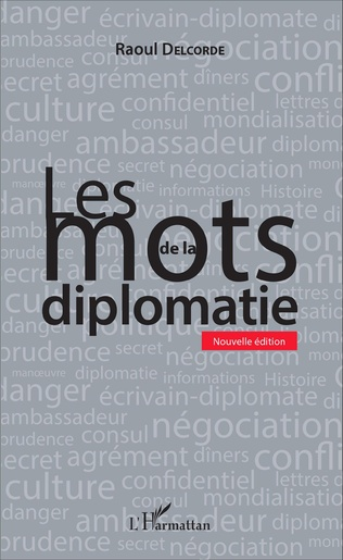 Couverture Les mots de la diplomatie