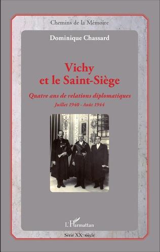 Couverture Vichy et le Saint-Siège