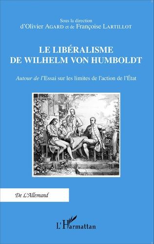 Couverture Le libéralisme de Wilhelm Von Humboldt