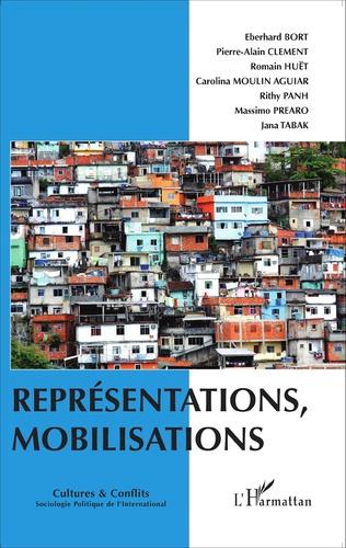 Couverture Représentations, mobilisations