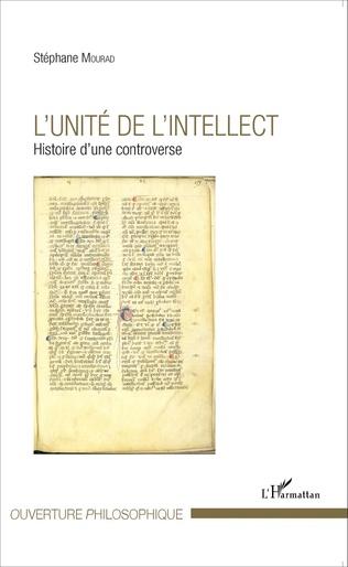 Couverture L'unité de l'intellect