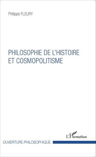 Couverture Philosophie de l'histoire et cosmopolitisme