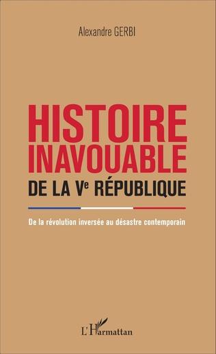 Couverture Histoire inavouable de la Ve République