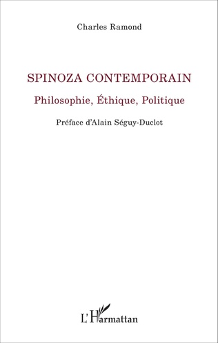 Couverture Spinoza Contemporain