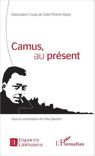 Couverture Camus, au présent