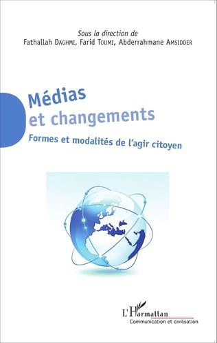 Couverture Médias et changements