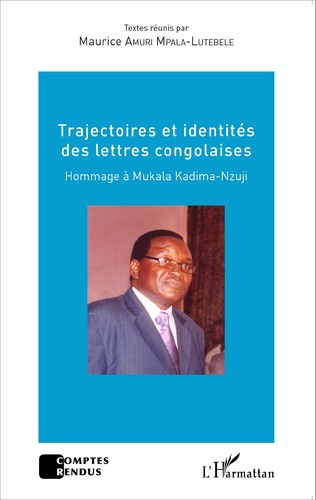 Couverture Trajectoires et identités des lettres congolaises