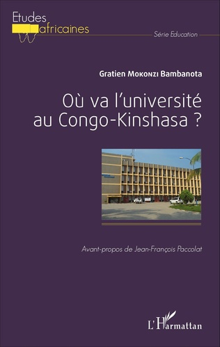 Couverture Où va l'université au Congo-Kinshasa ?
