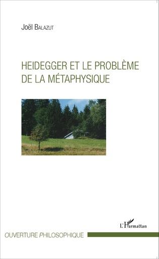 Couverture Heidegger et le problème de la métaphysique