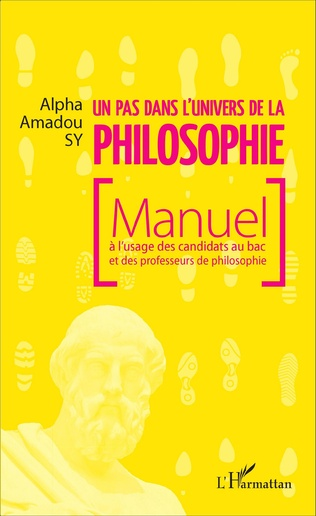 Couverture Un pas dans l'univers de la philosophie