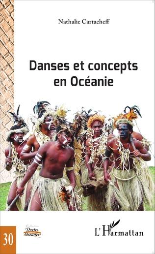 Couverture Danses et concepts en Océanie