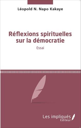 Couverture Réflexions spirituelles sur la démocratie
