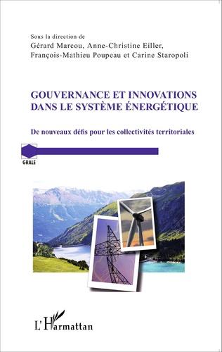 Couverture Gouvernance et innovations dans le système énergétique