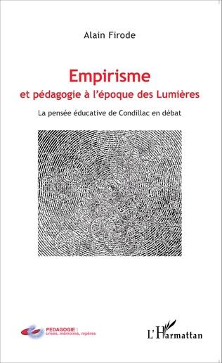 Couverture Empirisme et pédagogie à l'époque de Lumières