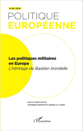 Couverture Les politiques militaires européennes