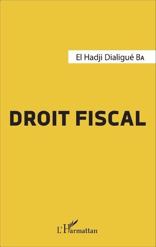 Couverture Droit fiscal