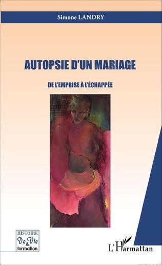 Couverture Autopsie d'un mariage
