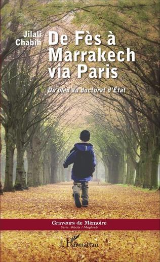 Couverture De Fès à Marrakech via Paris