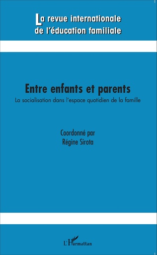 Couverture Entre enfants et parents