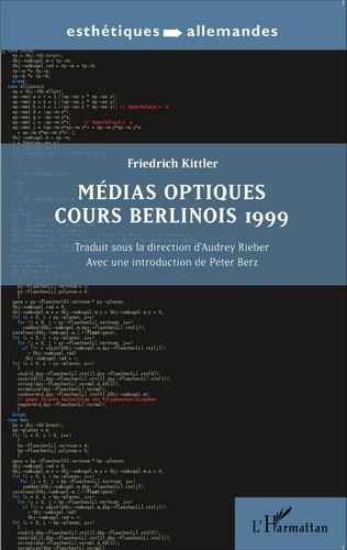 Couverture Médias optiques cours Berlinois 1999