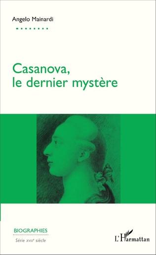 Couverture Casanova, le dernier mystère