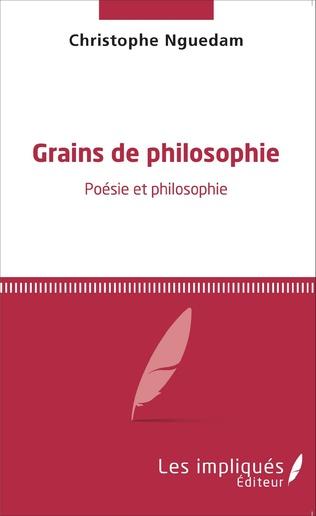 Couverture Grains de philosophie
